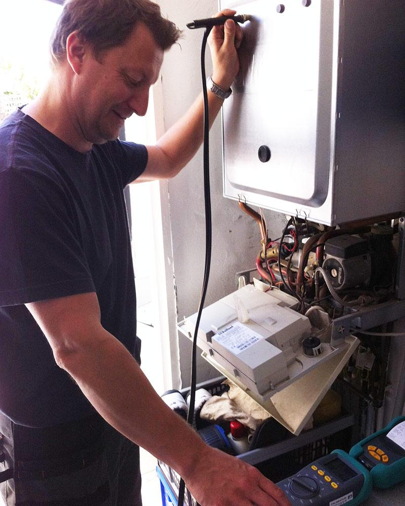 Simon Evans, heating engineer Heathfield